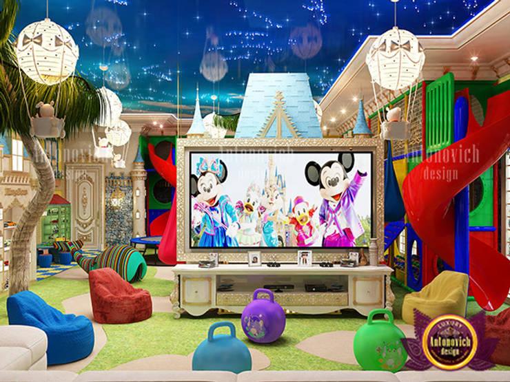 Unique Extraordinary Play Area by Luxury Antonovich Design