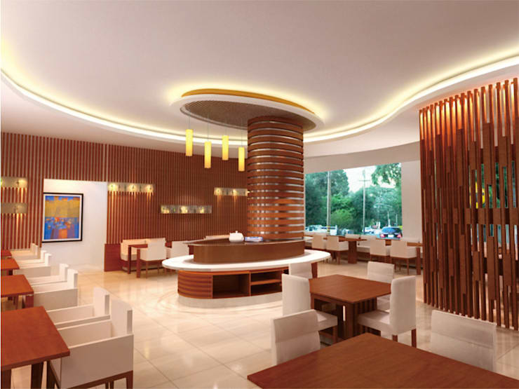 dining room in  concept:  Dining room by daun architect