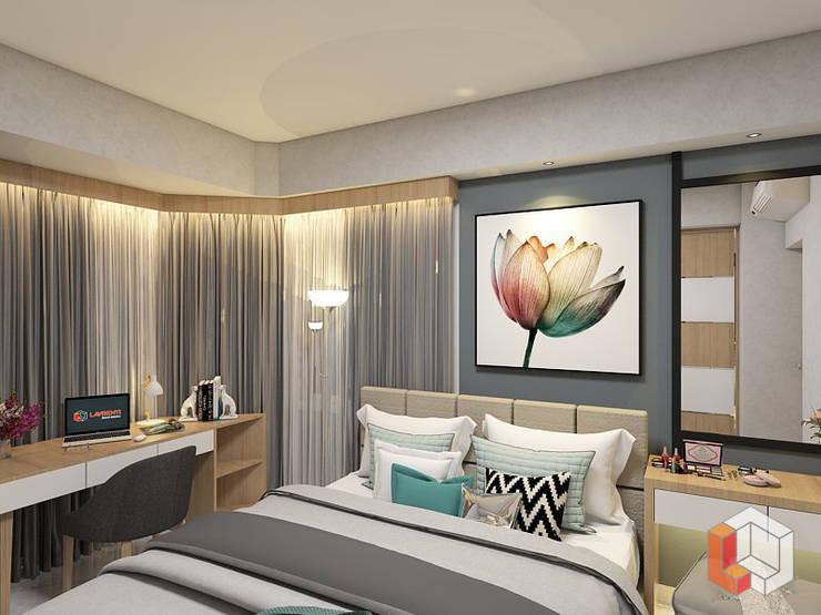 Apartemen Harmoni:  Kamar Tidur by Lavrenti Smart Interior