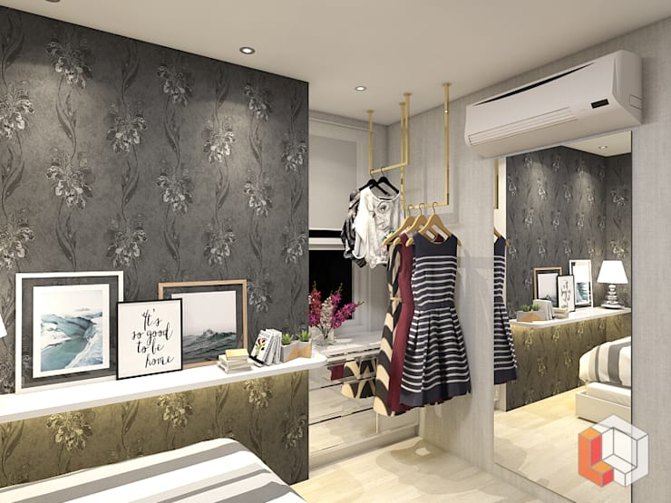 Apartemen Pasar Baru:  Bedroom by Lavrenti Smart Interior