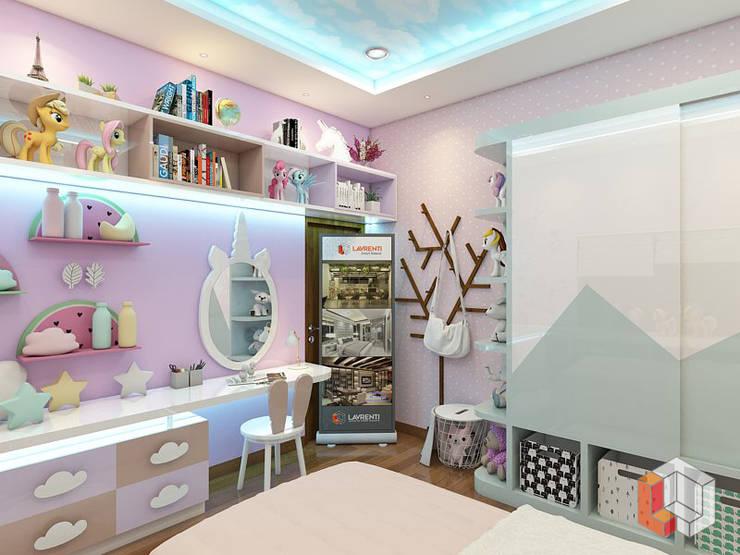 Kamar Anak Cipinang:  Kamar tidur anak by Lavrenti Smart Interior