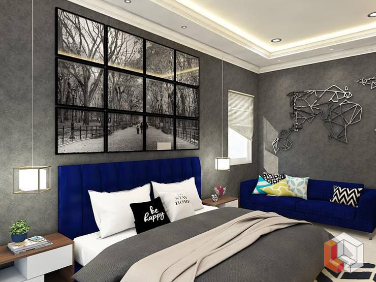 Kamar Anak Bukit Gading Villa:  Kamar Tidur by Lavrenti Smart Interior