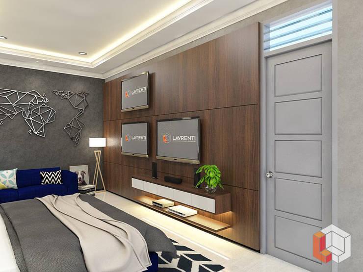 Kamar Anak Bukit Gading Villa:  Ruang Multimedia by Lavrenti Smart Interior