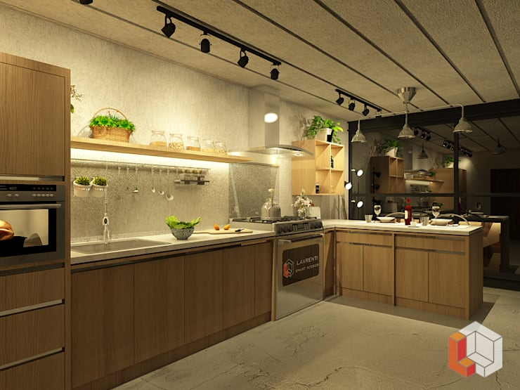 Kitchen by Lavrenti Smart Interior, Minimalist