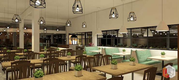 Restoran Bekasi:  Restoran by Lavrenti Smart Interior