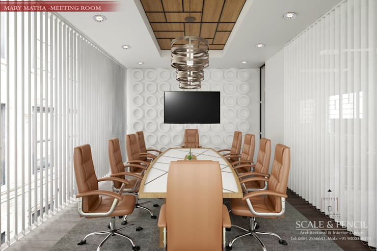 Best commercial designs Kochi:   by In-Home interiors