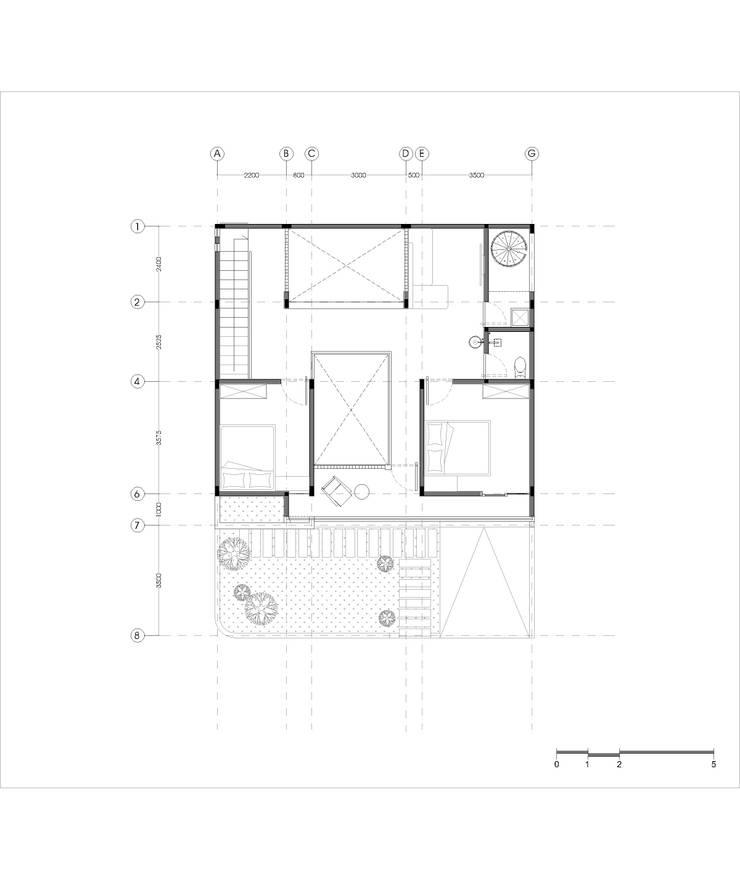 Denah lantai 2:   by Tigha Atelier