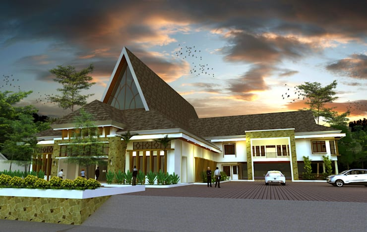 Aula St. Theresia - Manado :   by Hanry_Architect