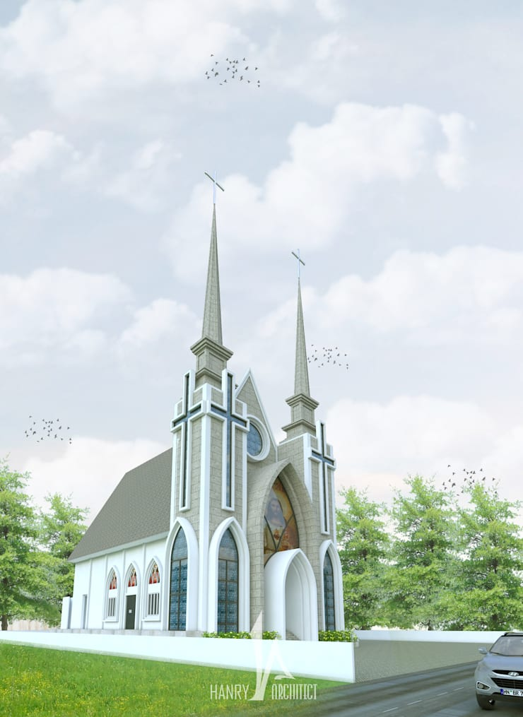 Gereja GMIM – Tondano:   by Hanry_Architect