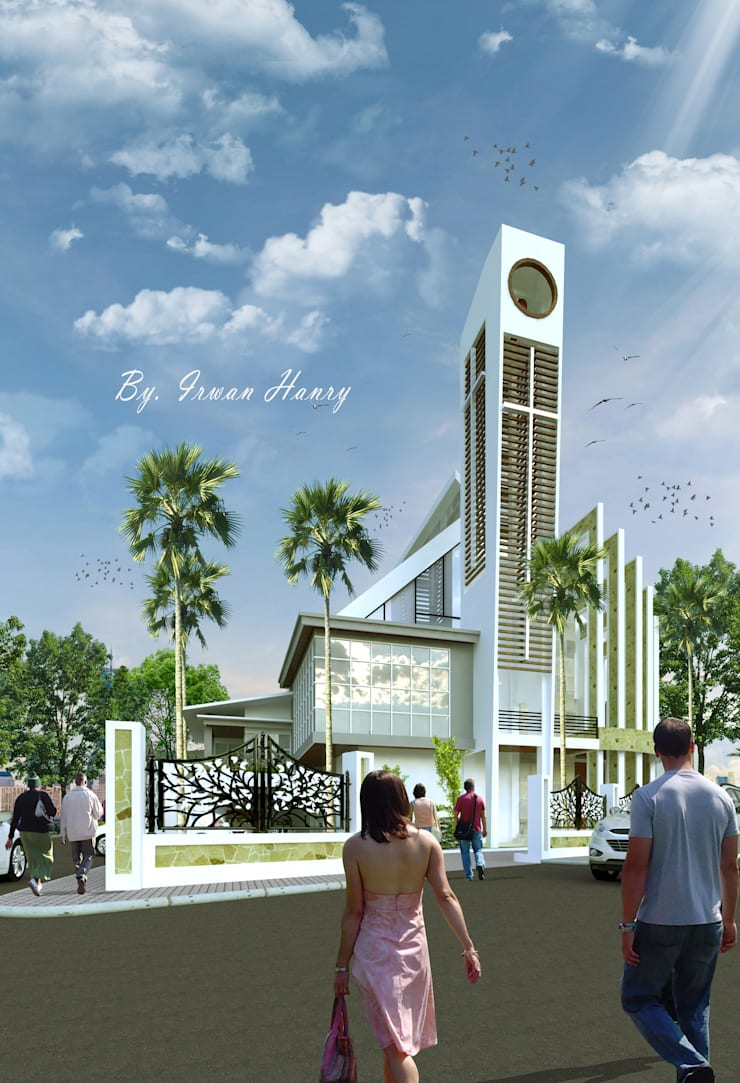 Gereja GMIM - Likupang:   by Hanry_Architect