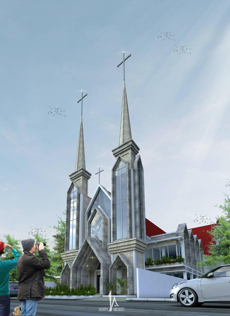 GMIM Abraham Sario - Manado:   by Hanry_Architect
