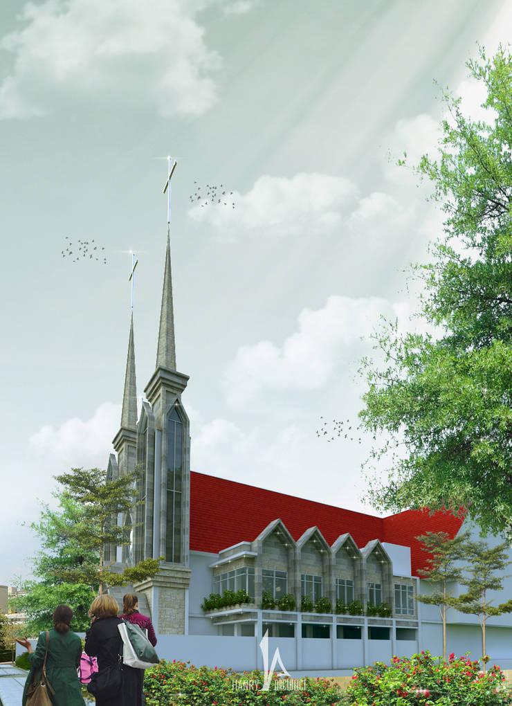 GMIM Abraham Sario – Manado:   by Hanry_Architect