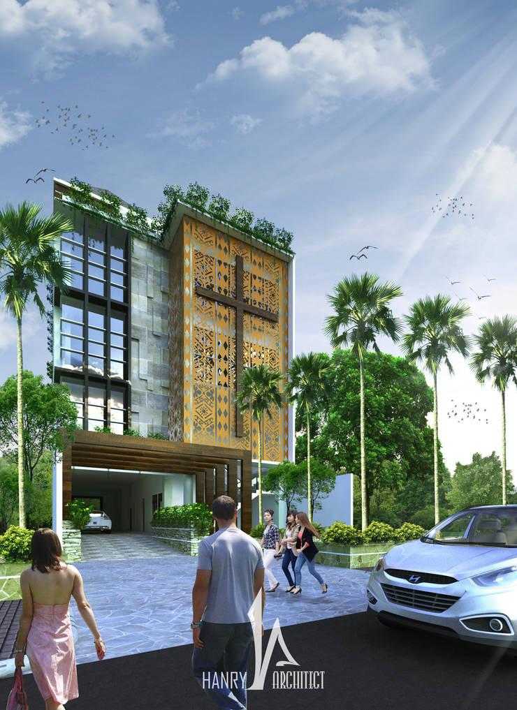 GPDI Pusat - Manado:   by Hanry_Architect