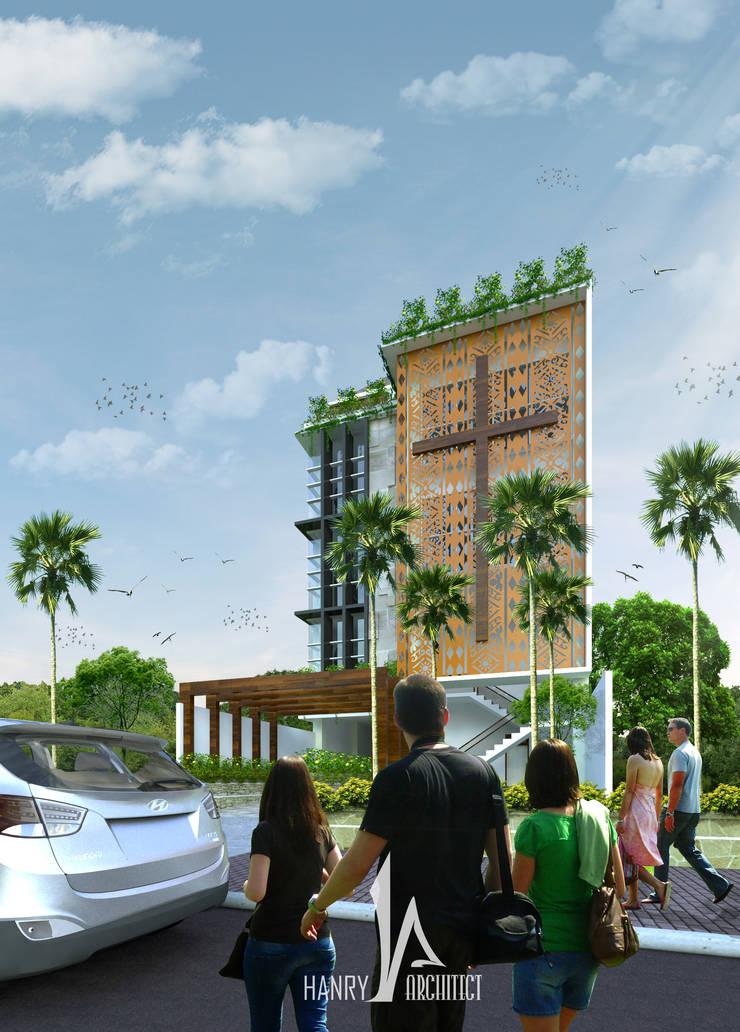 GPDI Pusat – Manado:   by Hanry_Architect