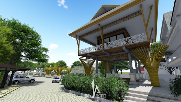 Khách sạn theo Hanry_Architect, Chiết trung