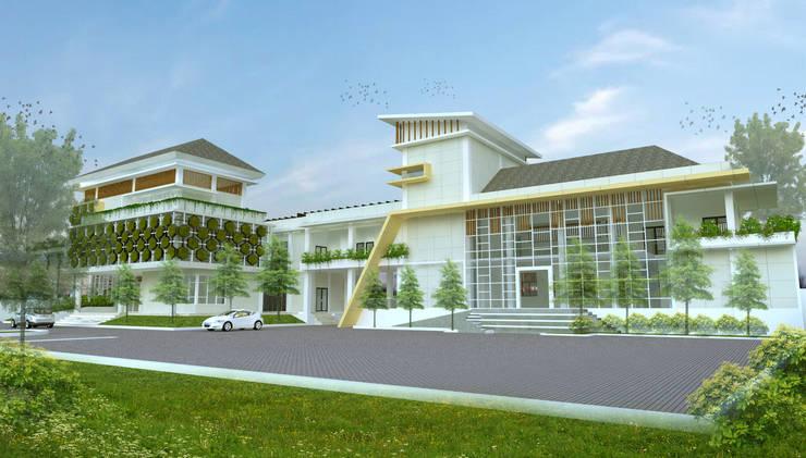 Kantor PIP2B - Manado :   by Hanry_Architect