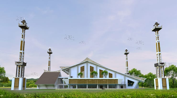 Masjid Raya – Gorontalo :   by Hanry_Architect