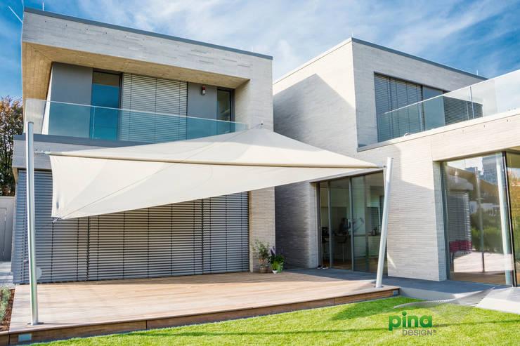 Sonnensegel - elektrisch aufrollbar | Terrassenbeschattung von Pina ...