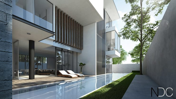 USJ HOUSE:  Houses by NDC DESIGN, Modern