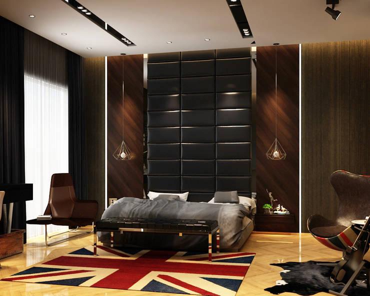 Luxury Bungalow:  Bedroom by Norm designhaus