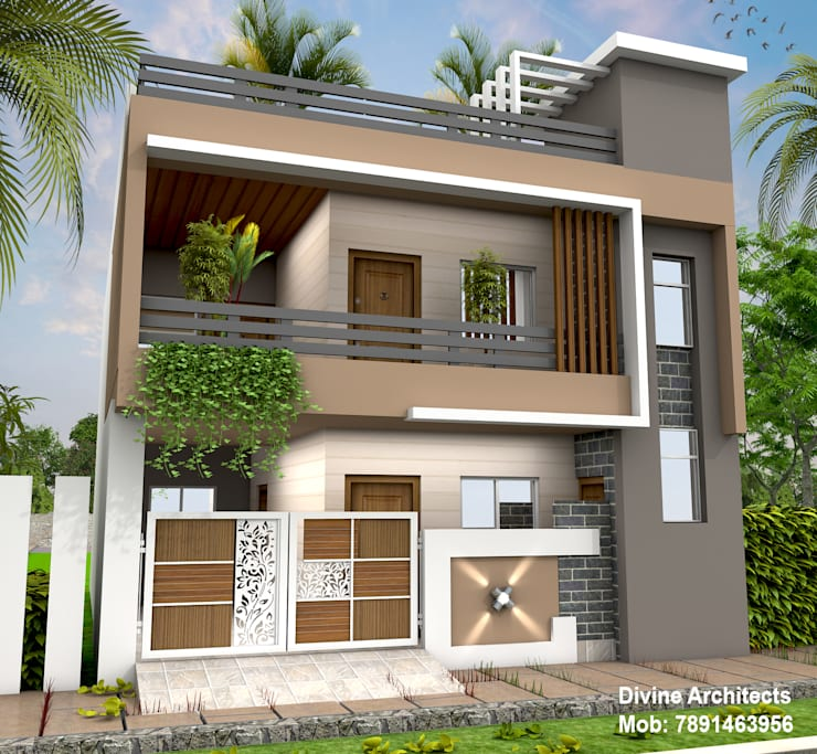 Modern Home Elevation Designs: Front Elevation Design Ideas From Architects In Jaipur