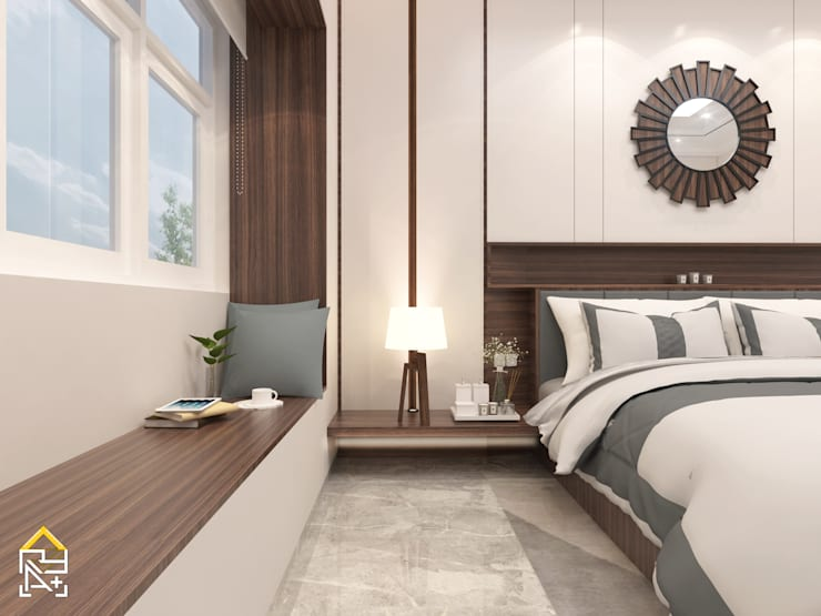Masterbedroom:   by JRY Atelier