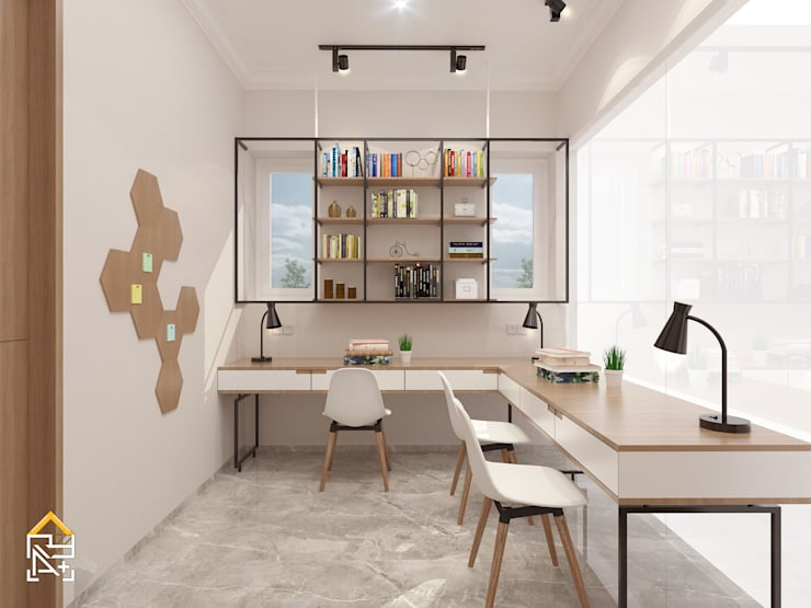 Study Room:   by JRY Atelier