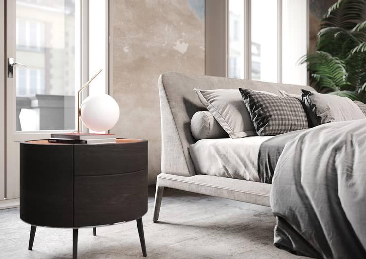 Personale proposta camera da letto vintage di Nespoli 3d Moderno