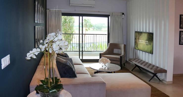 Exclusive villa community:  Bedroom by Sobha City