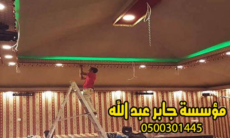 بيوت شعر المجالس بيوت شعر من الداخل والخارج0500301445:  Living room تنفيذ هناجر ومستودعات جابر عبد الله