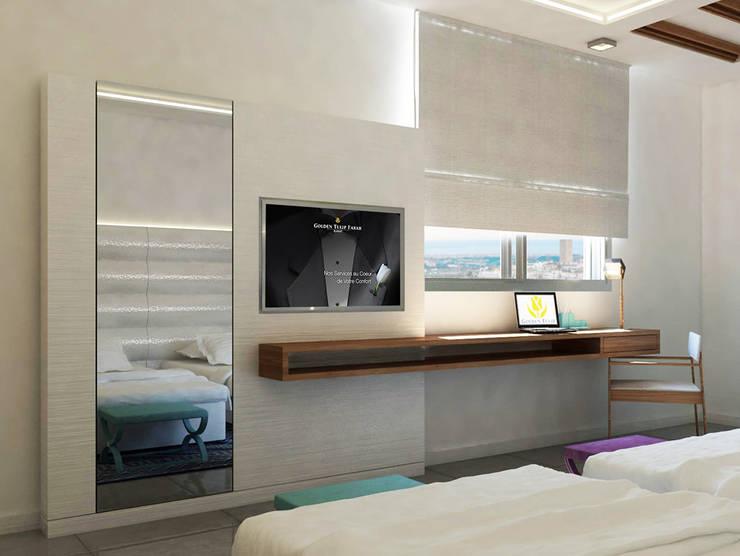 Bedroom design:  Bedroom by ARCHI-SERVICE