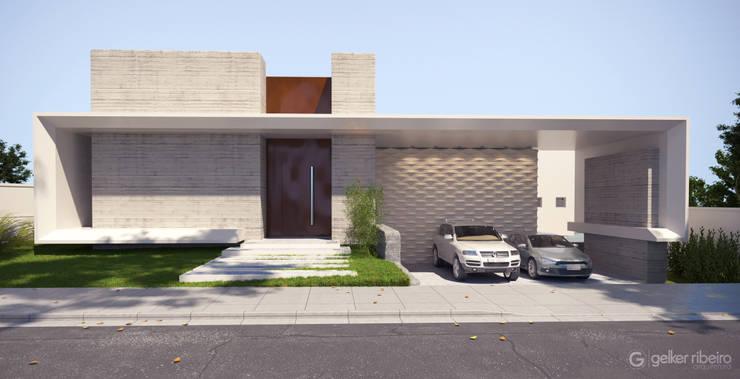 Projeto casa moderna jc pendotiba niter i por gelker for Casa moderna zurigo