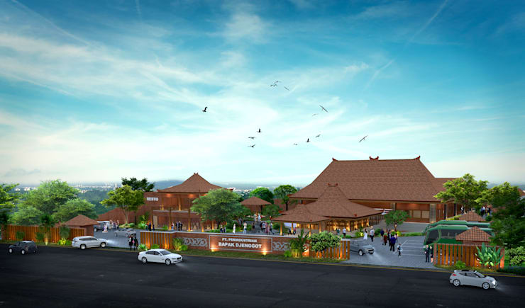 Eksterior Ritel Warung Makan:   by Arsitekpedia