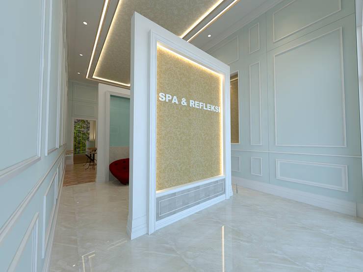 Salon dan SPA interior Eksterior:   by Arsitekpedia