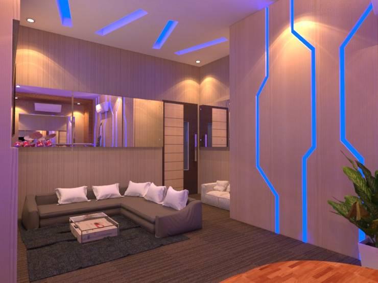 Salas multimídia  por Arsitekpedia , Moderno