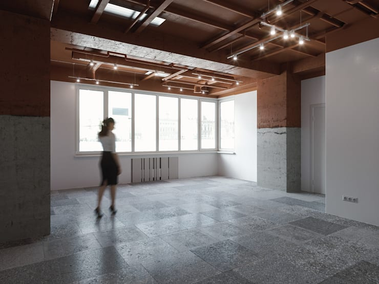 Lilo & Co: Офисные помещения в . Автор – ANARCHY DESIGN, Лофт Бетон