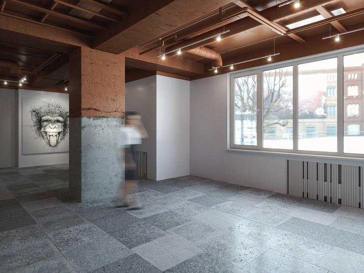 Lilo & Co: Офисные помещения в . Автор – ANARCHY DESIGN, Лофт Гранит