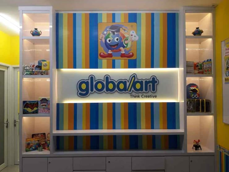 Fit Out Globalart Lotte Mall Bintaro:  Pusat Perbelanjaan by PT Intinusa Persada
