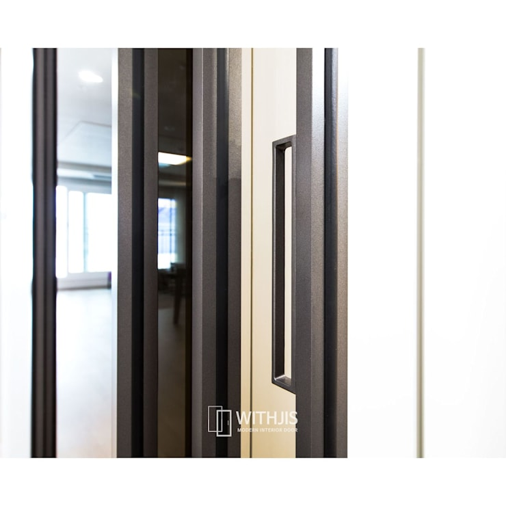 ALU-SD 슬림 핸들: WITHJIS(위드지스)의  복도 & 현관,
