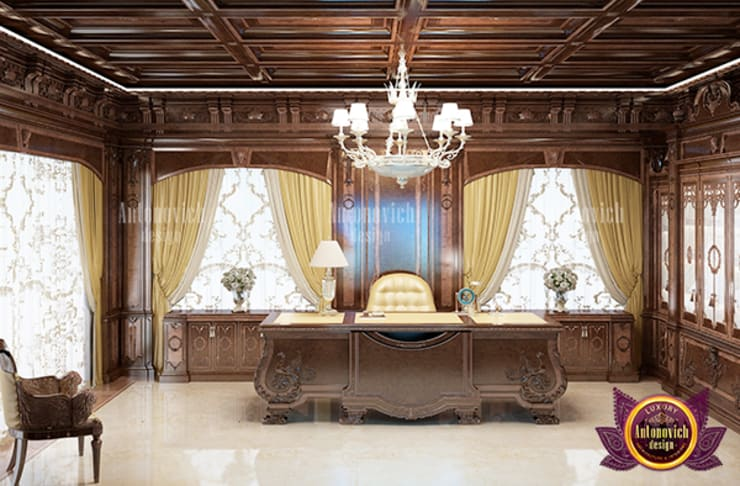 Superb Luxurious Meeting Room:   by Luxury Antonovich Design