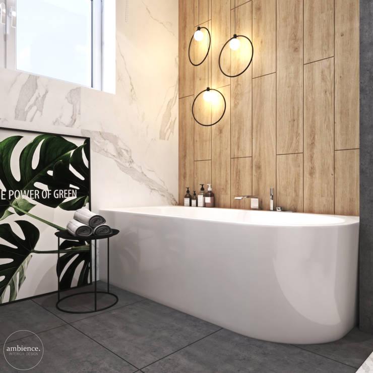 Wnętrza domu w Krakowie: styl , w kategorii Łazienka zaprojektowany przez Ambience. Interior Design