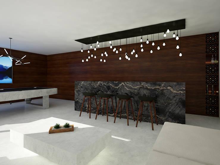cuarto de juegos:  de estilo  por studio arquitectura | Despacho de arquitectos | Cancún