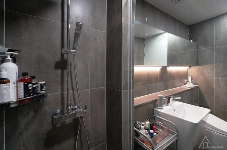حمام تنفيذ 디자인 아버