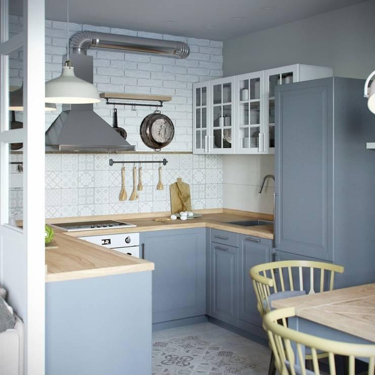 Cocinas de estilo  por Barkod İç Mimarlık