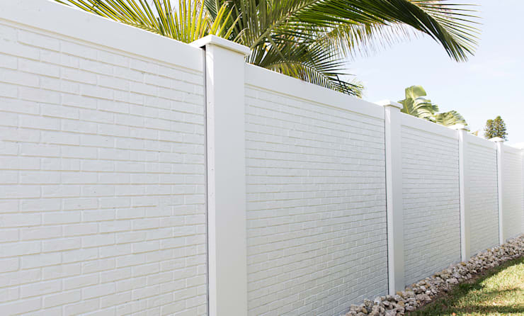 Quality Vibracrete walls:   by Fever Tree Fencing Cape Town