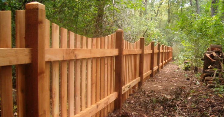 Durable Wood Fencing Installation:   by Fever Tree Fencing Cape Town