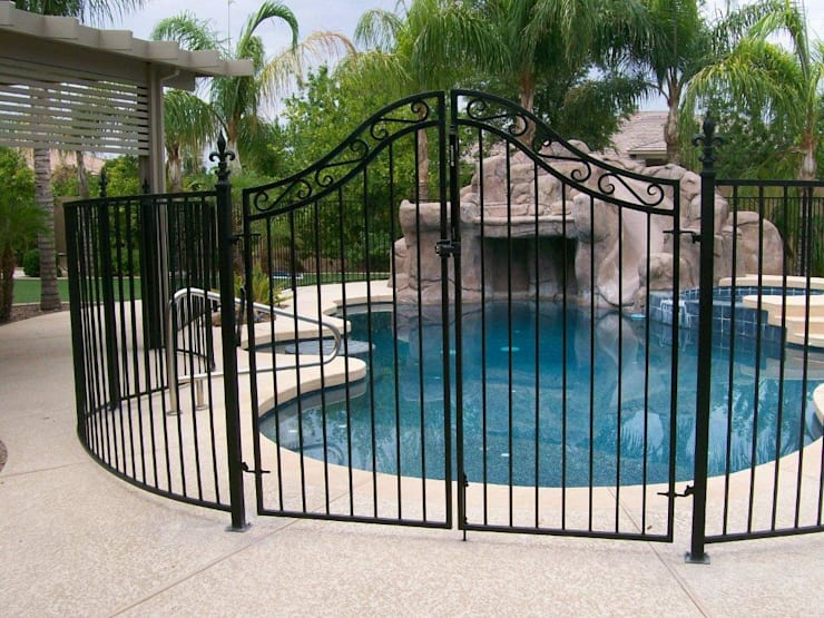 Reliable Swimming Pool Fencing:   by Fever Tree Fencing Cape Town