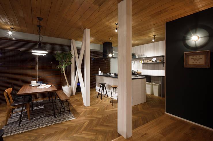 Ruang Makan oleh dwarf, Eklektik