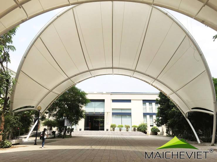 Mái che trường đại học Thăng Long – Hà Nội:  Trường học by Công ty TNHH Havico Việt Nam