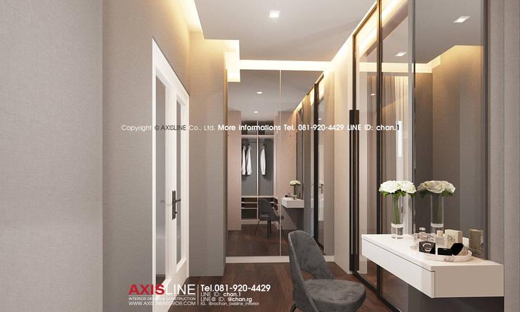 Interior Design : ออกแบบตกแต่งภายใน บ้านคุณอุดมลักษณ์ หมู่บ้านนันทวัน ปิ่นเกล้า ราชพฤกษ์ :  ตกแต่งภายใน by บริษัทแอคซิสลาย จำกัด
